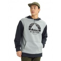 Bluza Męska Burton Oak Pullover (Gray Heather True Black)