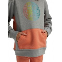 Bluza Dziecięca Burton Oak pullover (Gray Hether Crabapple Heather)