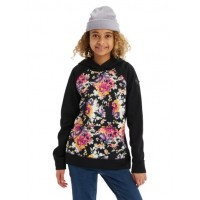 Bluza Dziecięca Burton Crown Bonded Pullover (True Black Secret Garden)