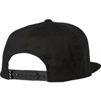 Czapka z Daszkiem Fox Headers Snapback Black/Red (one size)