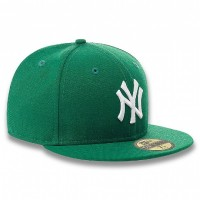 New Era NY Yankees Basic Green White
