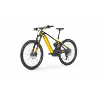 Rower Elektryczny mondraker level R black yellow orange