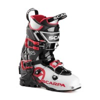 buty skitourowe damskie scarpa gea RS2 White-Black-Warm Red
