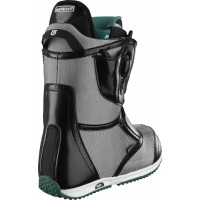 Buty snowboardowe damskie Burton Emerald Restricted (black/white) 2014