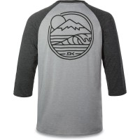 Koszulka Męska 3/4 Dakine Well Rounded 3/4 Raglan Tech (Headher Dark Grey)