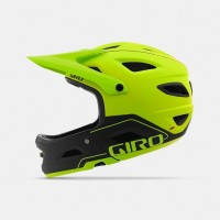 Kask Rowerowy Giro Switchblade MIPS (Matte Lime / Black)