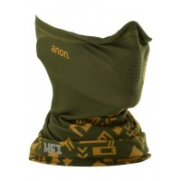 Kominiarka / Ocieplacz / Komin Męski Burton MFI Lightweight Neck Warmer (Native Green)