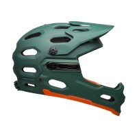 Kask Bell Super 3R MIPS (Matte Green / Orange)