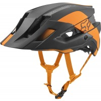 Fox Kask Rowerowy Flux MIPS conduit atomic orange