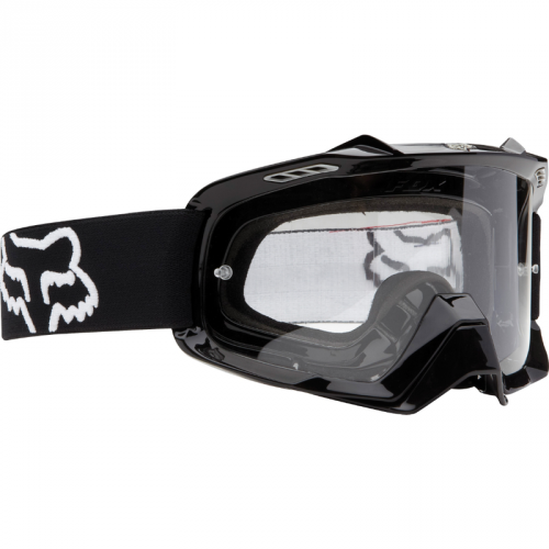 Gogle Rowerowe Fox Air Space Day (Polished Black) (Szyba: Clear)