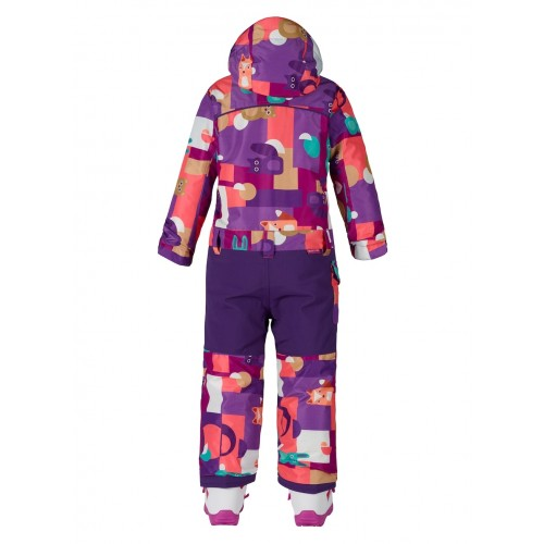 Kombinezon Snowboardowy Dziecięcy Burton Minishred Illusion One Piece (Paper Animals)