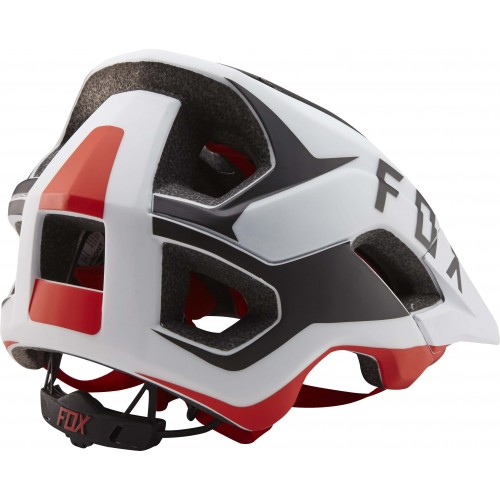 Kask Rowerowy Fox Metah Flow (White/Black/Red)