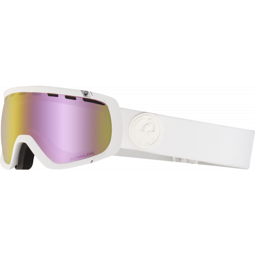 Gogle Dragon Rogue Whiteout (Pink Ion)