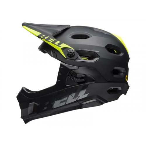 Kask Bell Super DH Mips Matt Gloss Black (2018)