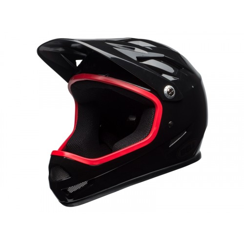 Kask Bell Sanction Gloss Black Hibiscus (2018)
