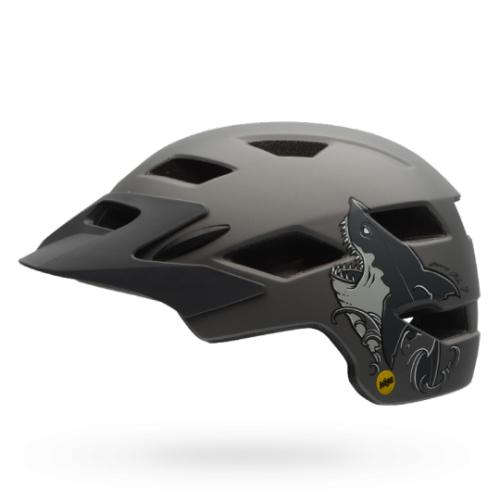 Kask Rowerowy Youth Bell Sidetrack (Matte Titanium Shark)