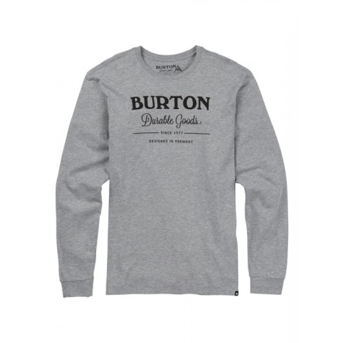 Longsleeve Męski Burton Durable Goods (Gray Heather)