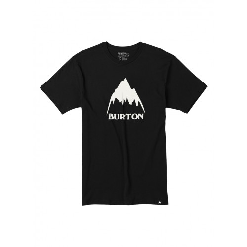 Koszulka Męska Burton Classic Mountain High (True Black)