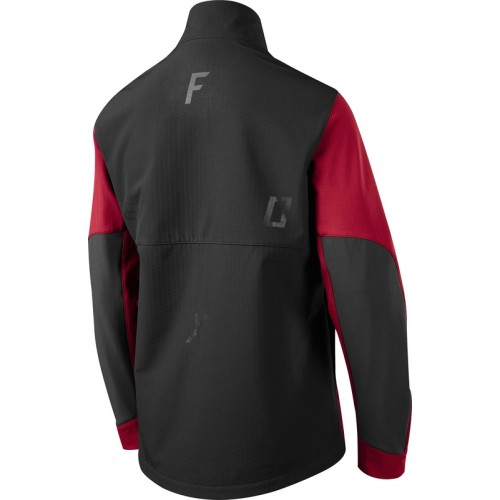 Kurtka Rowerowa Męska Fox Attack Fire Softshell (Dark Red)