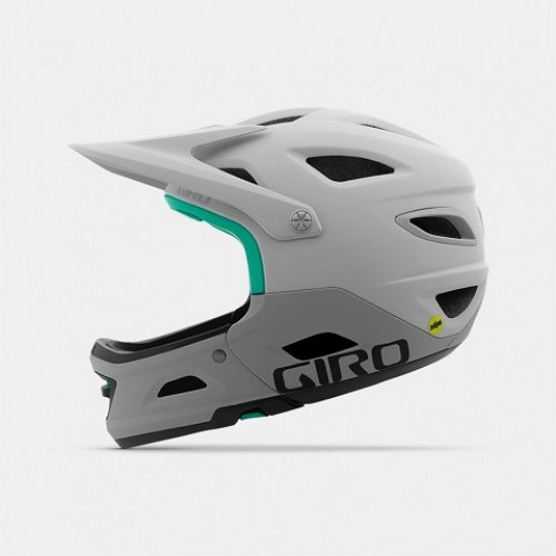 Kask Rowerowy Giro Switchblade MIPS (Matte White / Grey)