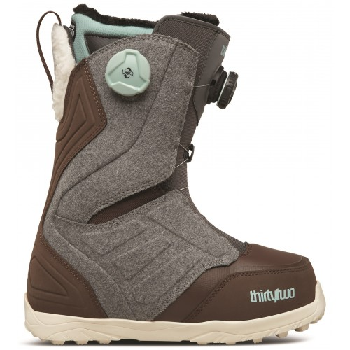 Buty Snowboardowe Damskie ThirtyTwo Lashed Double BOA (Grey / Brown)