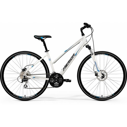 Rower Merida Crossway 20-D Lady 50cm (White)