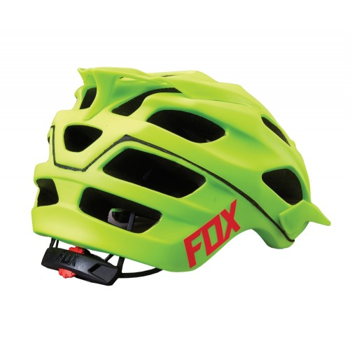 Kask Rowerowy Fox Flux Optik (Flo Yellow)
