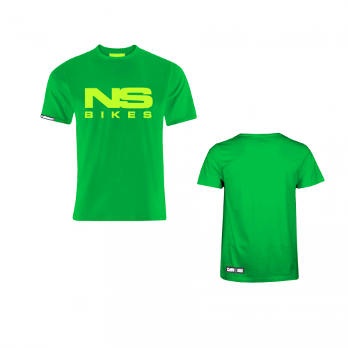 T-shirt NS Bikes Logo (Zielony)