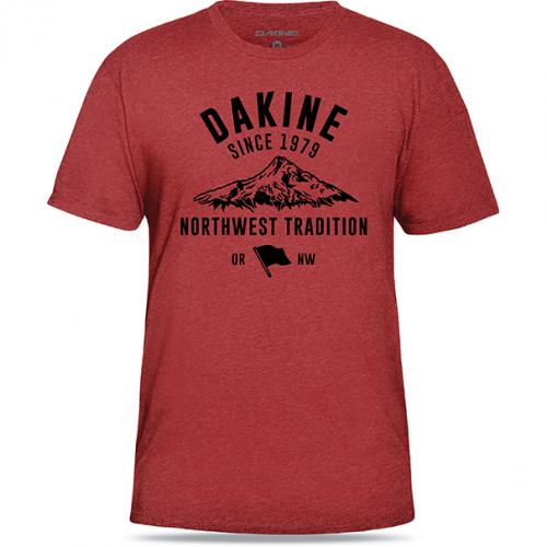T-shirt Dakine Tradition (Heather Red)
