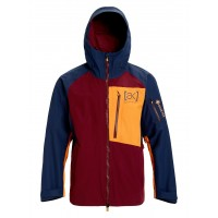 Męska kurtka Burton [ak] GORE-TEX Cyclic port royal/ dress blue/ russet orange