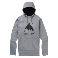Bluza Męska Burton Crown Bonded Pullover (Gray Heather)