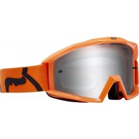 gogle rowerowe fox main race orange szyba clear