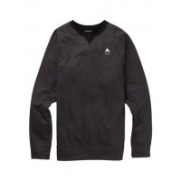 Bluza Męska Burton Crown Bonded Crew (True Black Heather)
