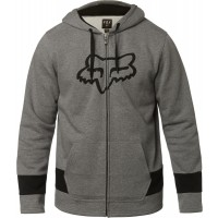 Bluza Fox z kapturem na zamek Arena Heather Graphite