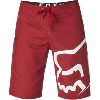fox boardshort stock cardinal