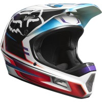 kask rowerowy fox rampage comp reno iced