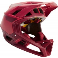 Fox Kask Rowerowy proframe quo bright red