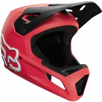 kask rowerowy fox rampage bright red