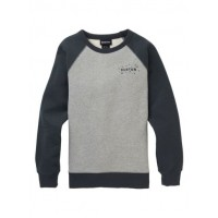 Bluza Damska Burton Keeler Crew (Gray Heather Phantom)