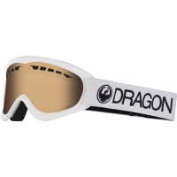 Gogle Dragon DXS White (Amber)