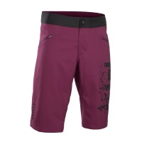 spodenki rowerowe ion scrub pink isover