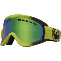 Gogle Dragon DX lime green ion