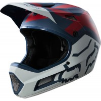 Kask Rowerowy Fox Rampage Comp Preme (Blue / Red)