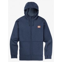 Bluza Męska Burton Oak Full-Zip (Mood Indigo Heather)