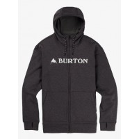 Bluza Męska Burton Oak Full-Zip (True Black Heather)