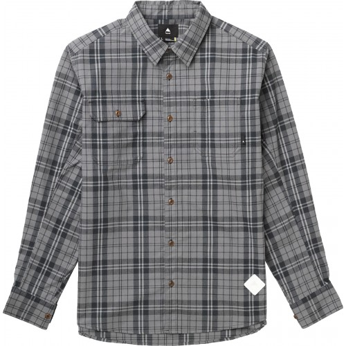 Koszula flanelowa męska Burton Clifford Flannel (true black vista plaid)