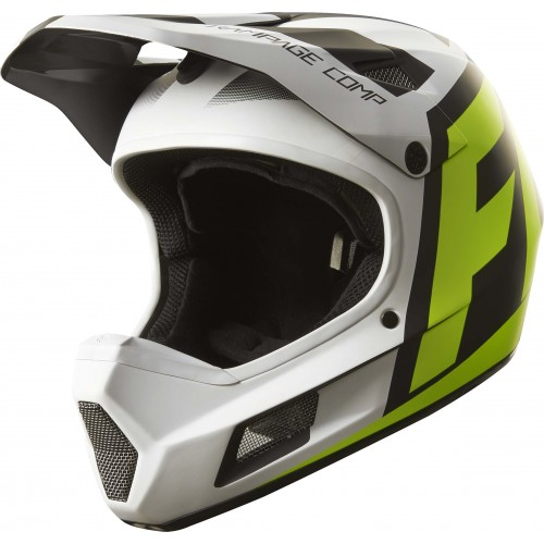 Kask Rowerowy Fox Rampage Comp Creo (White/Yellow)