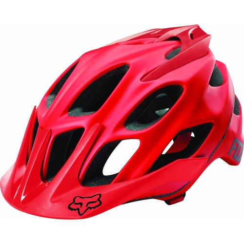 Kask Rowerowy Fox Lady Flux (Matte Red)