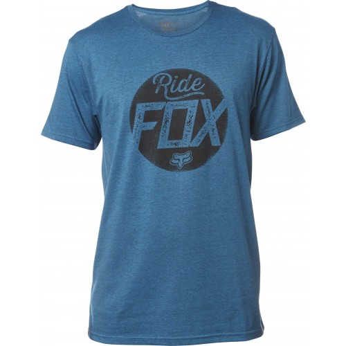 T-shirt Fox Turnstile (Heather Maui Blue)