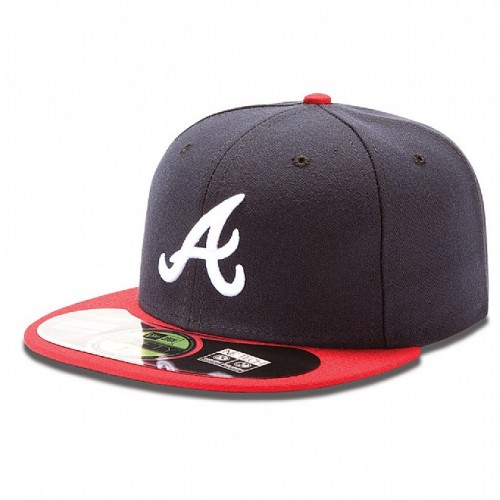 New Era Atlanta Braves Authentic Home